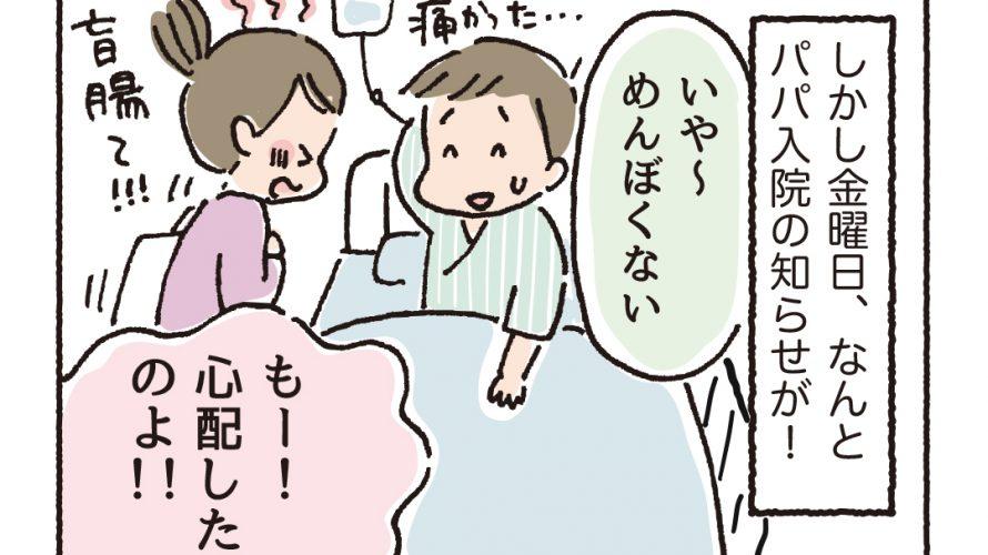 第23話 ピンチ!パパの入院の巻